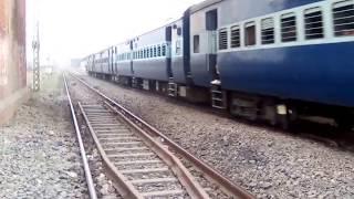 2 In One Crossing Of Rajdhani & Superfast
