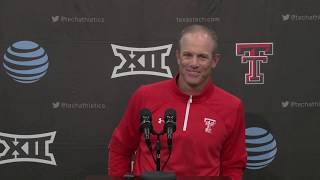Texas Tech Football vs. Iowa State: Press Conference | 2019