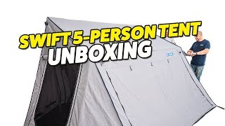 Adventure Kings Swift 5 Person Tent Unboxing