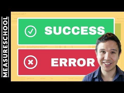 How To Track Success And Error Messages With Google Tag Manager