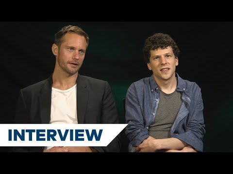 Alexander Skarsgård & Jesse Eisenberg's Biggest Challenges In The Hummingbird Project  TIFF 2018