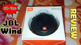 Review of jbl wind 2 in 1 bluetooth speaker.
