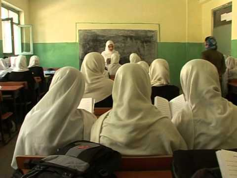 Girls struggle to get an education in Kabul