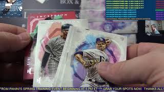 2019 Topps Inception Baseball Hobby 16 Box Case Break #1   RANDOM TEAMS