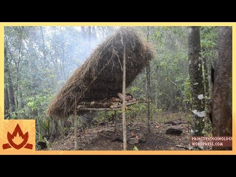 Thumbnail: Primitive Technology: Bed Shed