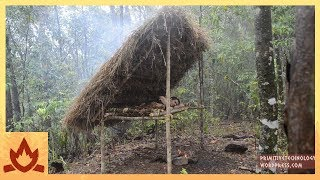primitive technology bed shed