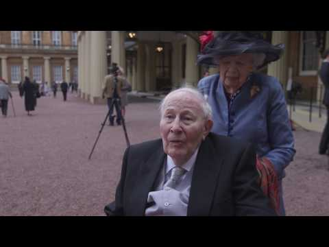 Sir Roger Bannister is made a Companion of Honour