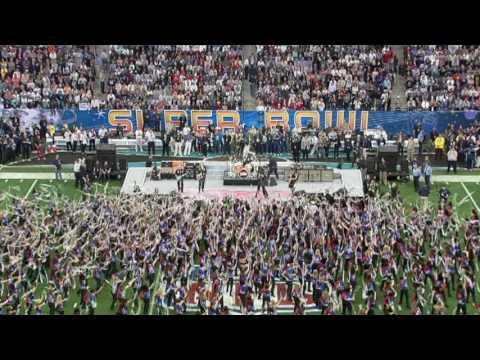 Aerosmith SuperBowl 2004 Opening Show Medley