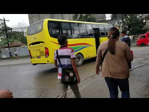 Welcome to The Bus Terminal in Davao City, Philippines (1/23/2019)