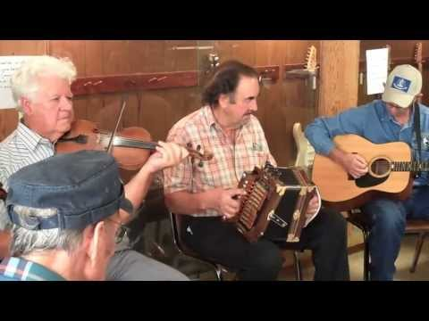 Cajun jam session at Savoy Music Center, Eunice, Louisiana  stabilized