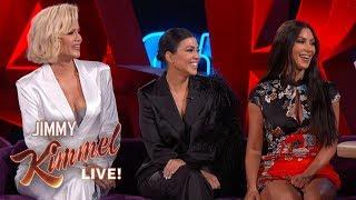Download Jimmy Kimmel Interviews Kim, Kourtney & Khloé Kardashian in Las Vegas Mp3 and Videos