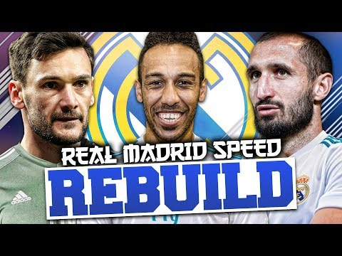 REBUILDING REAL MADRID vs RBT (Speed Rebuild) - FIFA 18 Career Mode