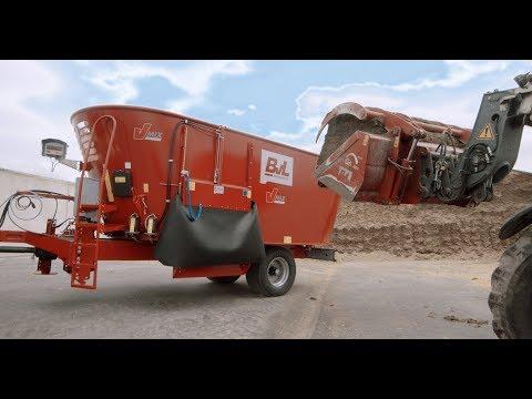 Futtermischwagen | BvL V-MIX Fremdbefüller Vertikal Futtermischwagen