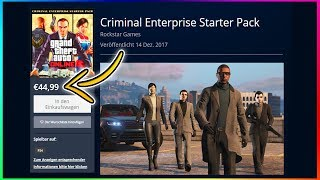 GTA Online: Criminal Enterprise Starter Pack - All Content