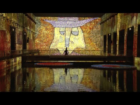 submarine-base-turned-into-world's-largest-digital-art-gallery