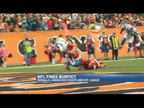 NFL Fines Bengals LB Burfict