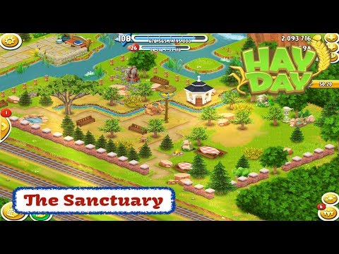 Hay Day - The Sanctuary - Puzzle Pieces, Animals, Decoration, Visitors