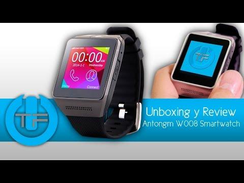 AtonGM W008   Reloj inteligente para iOS y Android