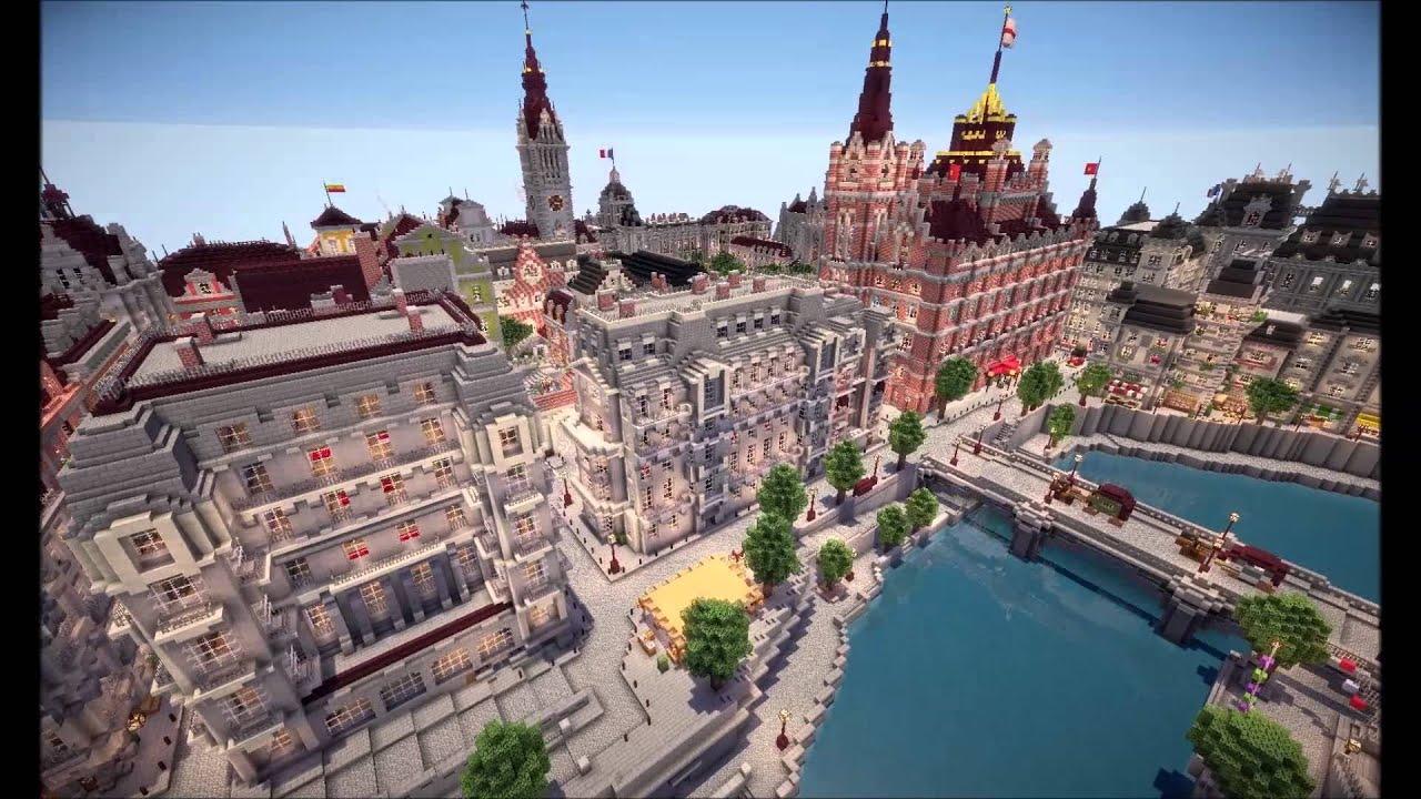 Map Ville Minecraft