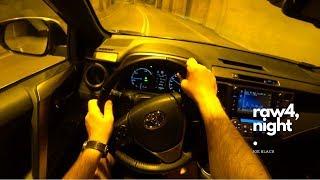 Night Toyota RAV4 (Hybrid 197 HP) 4K | POV Test Drive