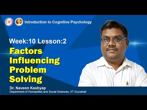 Factors Influenceing Problem Solving