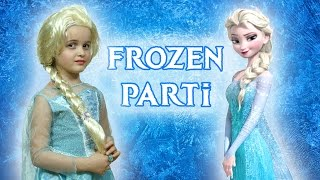 Nil Frozen Karlar ülkesi Elsa Kostüm Partisi | EvcilikTV
