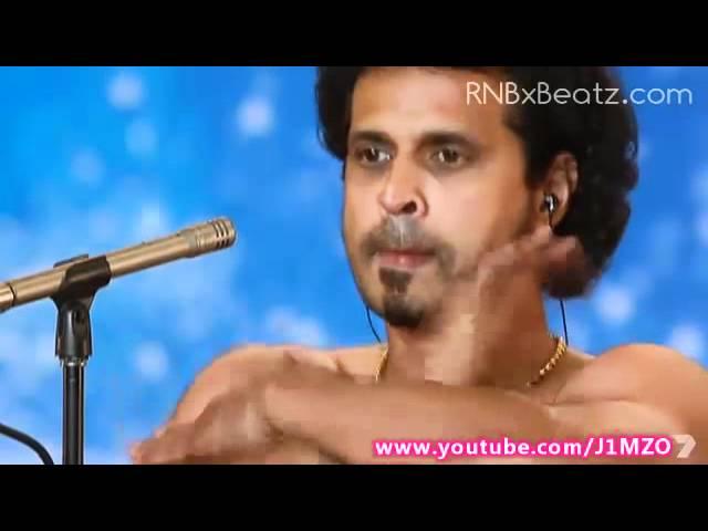 "Australia's Got Talent 2012 – Body Slapping ""Music"""