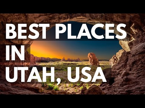 10 Best Travel Destinations in Utah USA