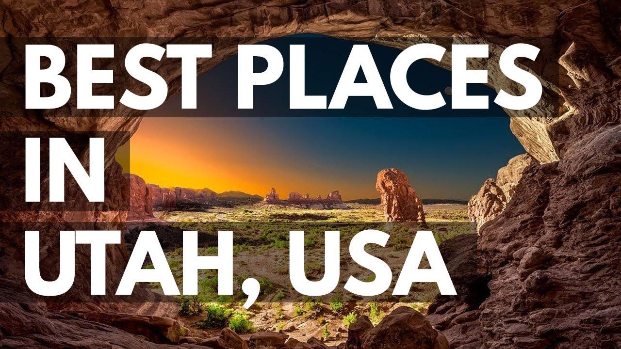 10 Best Travel Destinations in Utah USA YouTube