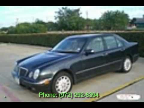 Used marcedes benz 2002 for sale dallas fort worth plano for Mercedes benz irving tx