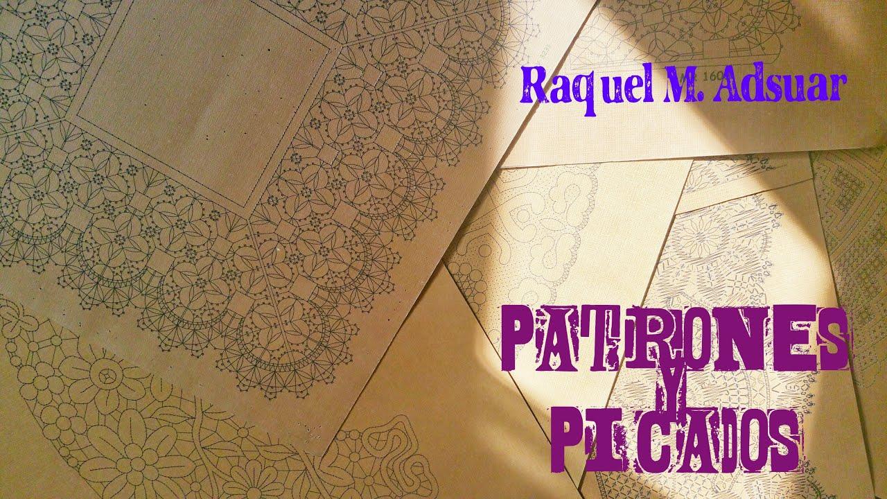 005 Picados y patrones (1) Curso Completo Encaje - Tutorial de ...