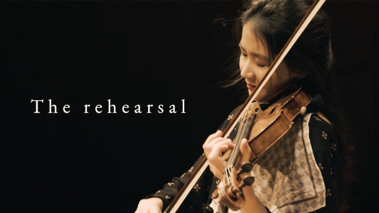 """The rehearsal - 바이올리니스트 한수진 """"리허설 연주 - 파가니니 소나타 6번, 몬티 차르다시, 거슈윈 Porgy and Bess Suite""""(4k)"""