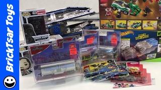 Toy Haul Ollie's , Target, Walmart, Trains, Star Wars, LEGO, Pops