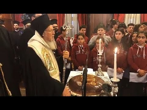 The Ecumenical Patriarch answers strictly to Patriarch Kirill of Moscow