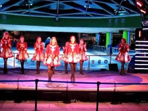 Eire Born Irish Dancers: 2010 Olympics - Robson Square