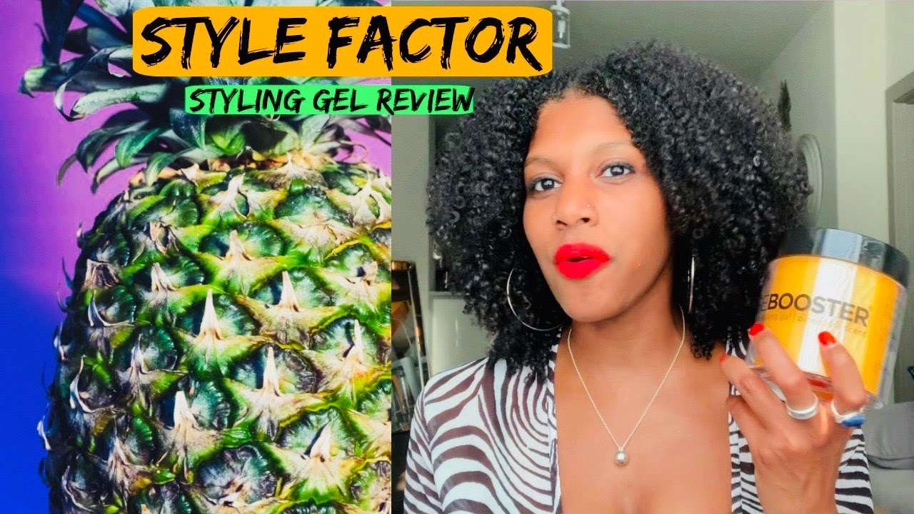 STYLE FACTOR | EDGE BOOSTER STYLING GEL REVIEW