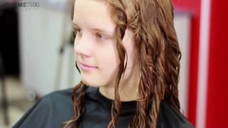 Укладка кудрявых волнистых волос(Меня часто просили снять видео про то, как укладывать волнистые кудрявые волосы, и сегодня я расскажу, как..., 2016-08-18T07:16:07.000Z)