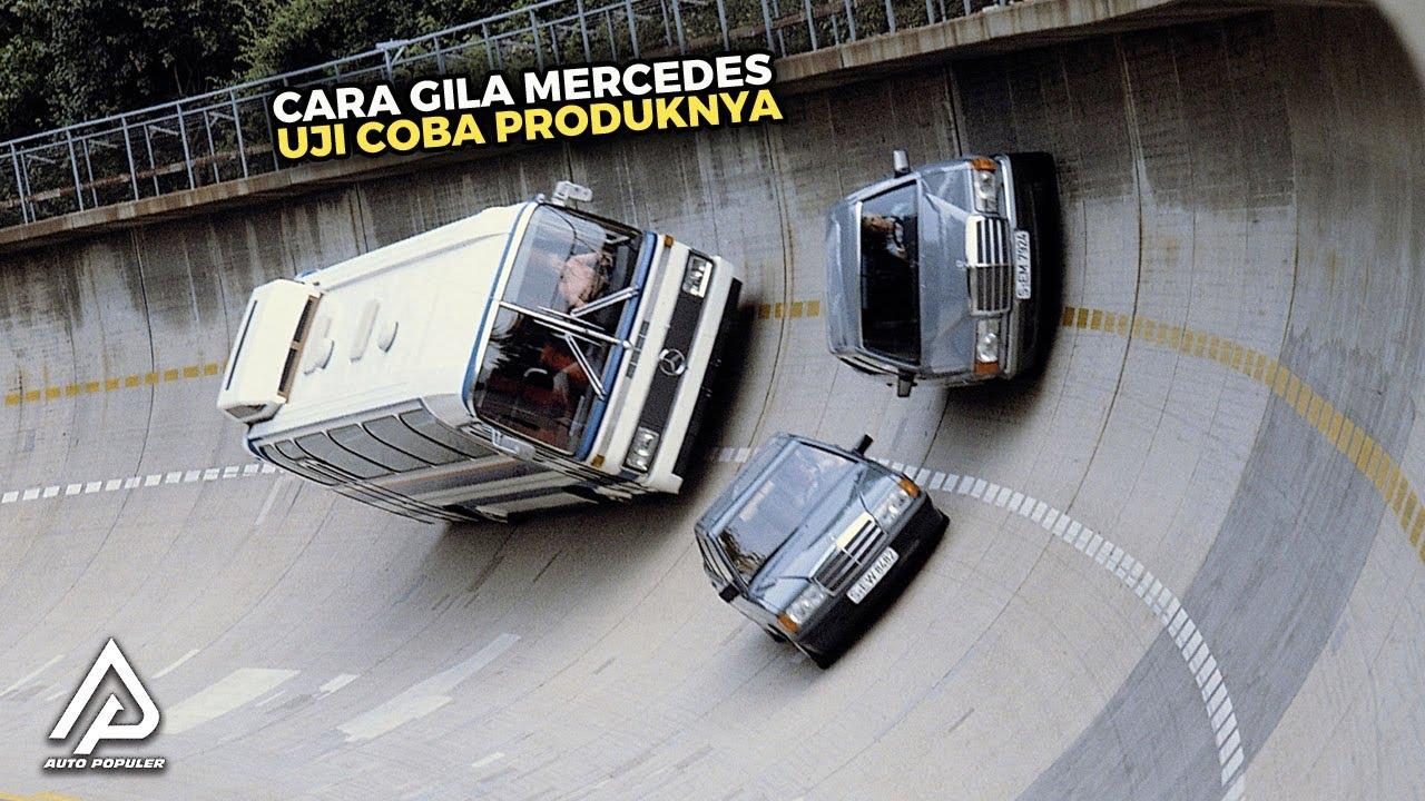Test Tracknya Berada di Atap Pabrik! Begini Cara Mercedes Benz Uji Coba Mobilnya