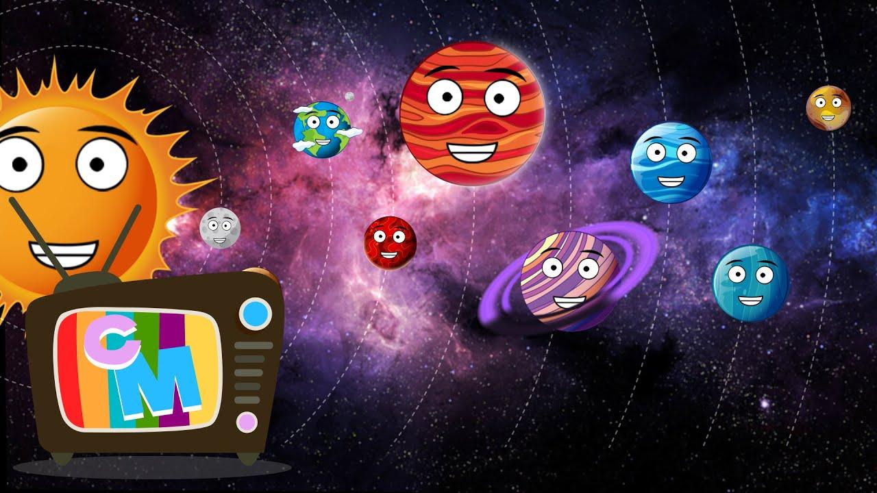 Sa invatam planetele - Clopotelul Magic - cantece educative pentru copii