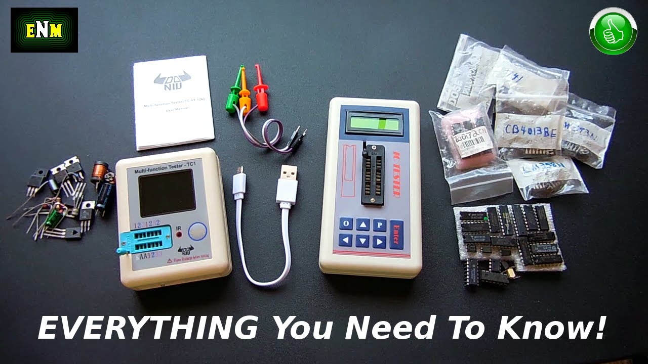 Two Very Good/Low Priced Items For Electronics Hobbyists(LCR & IC)
