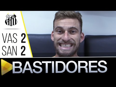 Vasco 2 x 2 Santos | BASTIDORES | Copa do Brasil (21/09/16)