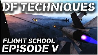 GTA V - PC Pilots Flight School - Episode 5 - Jet Dogfight Techniques (Piloting Tutorial)