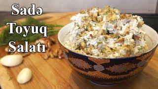 Çox dadlı və Sadə Toyuq Salatı resepti, Yemek reseptleri