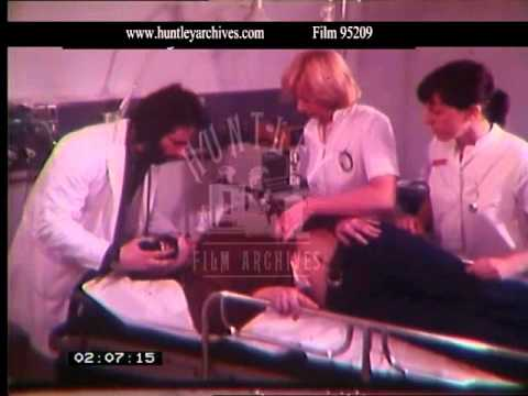 Treatment in Accident & Emergency, 1970s - Film 95209