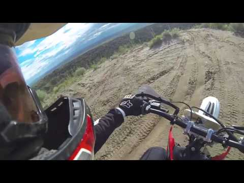 July Desert Ride Wet Albuquerque New Mexico Dirt Bike Ride