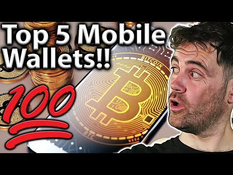 Mobile Crypto Wallets: TOP 5 BEST For 2021!! 🔐