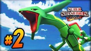 """Super Smash Bros Brawl - LIVE w/ Ali-A #2 - """"OMG RAYQUAZA!"""""""