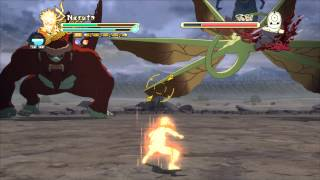 NARUTO SHIPPUDEN Ultimate Ninja STORM 3 Full Burst PC - Naruto VS Tobi and Tailed Beast 2/3 HD