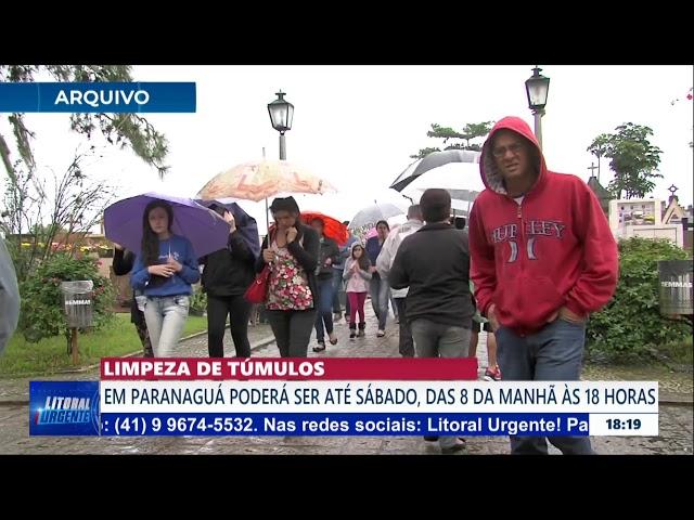 LIMPEZA DE TÚMULOS