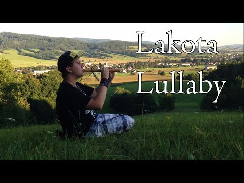 ''Lakota Lullaby'' Native American music (nEscafeX) - Native American Flute in (D) Lakota Lullaby